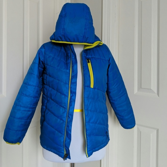 813e69dca Lands' End Jackets & Coats | Lands End Boys Blue Winter Puff Jacket ...